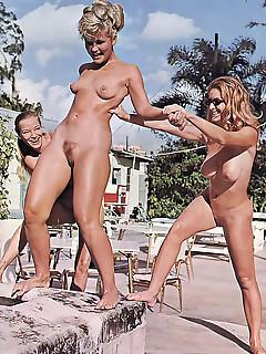 Nude retro Vintage: 16991